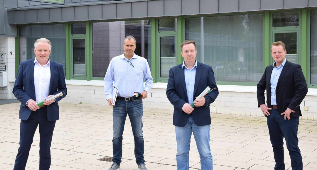 Personen Glasfaserausbau Amt Schafflund